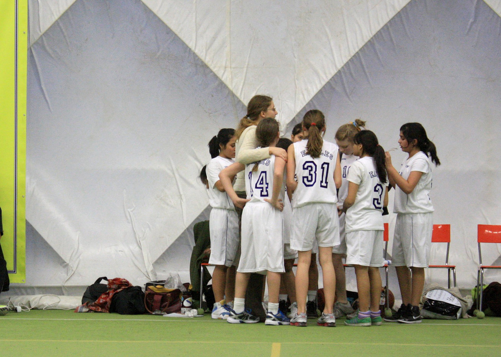 Girls' Huddle